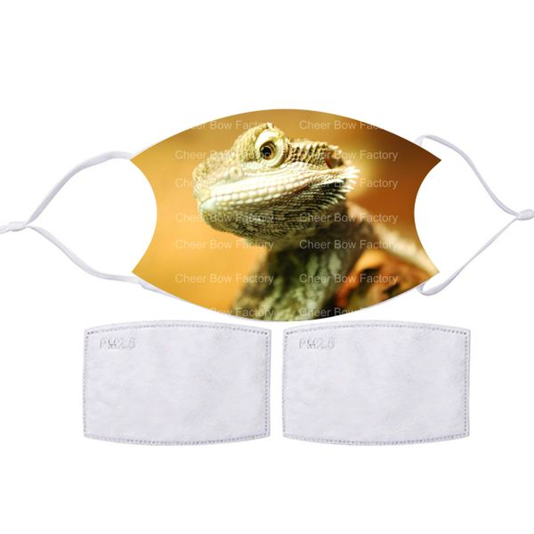Bearded Dragon Lizard Face mask