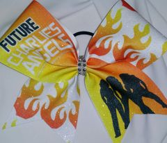 Future Charlie's Angels Cheer Bow