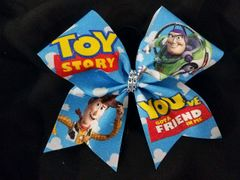 Toy Story Glitter Cheer Bow