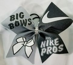 Big Bows and Nike Pros Glitter Cheer Bow