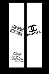 Chanel Cheer Bow Ready to Press Sublimation Graphic