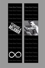 Justin Bieber Belieber Cheer Bow Ready to Press Sublimation Graphic