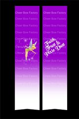 Faith, Trust & Pixie Dust Tinkerbell Cheer Bow Ready to Press Sublimation Graphic
