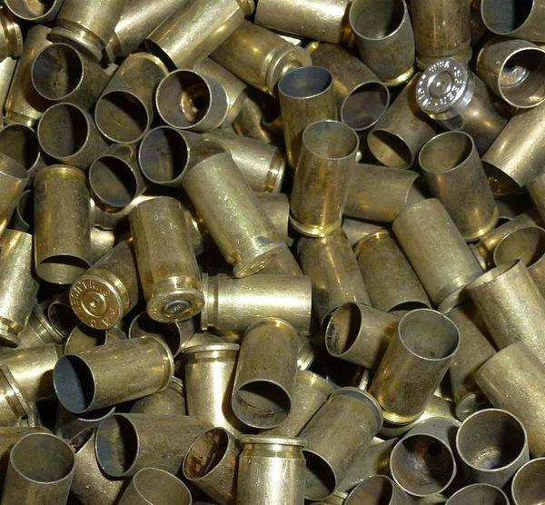 9mm Fired Brass