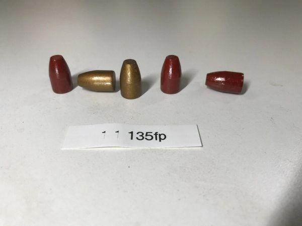 9mm 135gr FP Hi-Tek Polymer Coated Projectiles