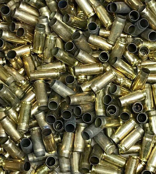 7.62x25 Tokarev Fired Brass