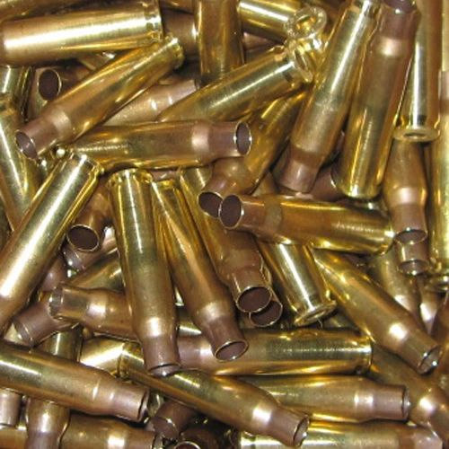 7.62x51 NATO Once Fired Lake City and FC Head Stamp Brass