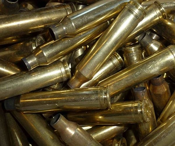 7mm Remington Magnum Mixed Head Stamp Fired Brass