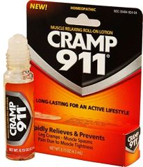CRAMP911 - Muscle Relaxing Lotion for FAST Cramp Relief 4.5mL (Small Roll-on)