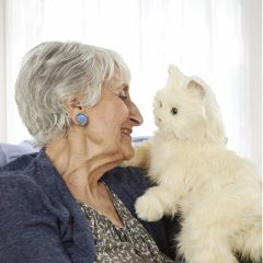 Joy For All - Companion Pet Cat (For every cat sold, $5 will be donated to Alzheimer's Association)
