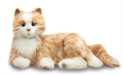 Joy For All - Orange Tabby Companion Pet Cat (For every cat sold, $5 will be donated to Alzheimer's Association)