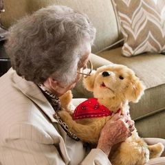 Joy for All - Companion Pet Pup (For every pup sold, $5 will be donated to Alzheimer's Association)