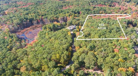 Incredible 9.82 Acre Kingdom Lot. A True estate parcel located at the end of the cul-de-sac.