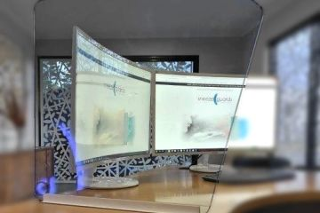 office protective screen
