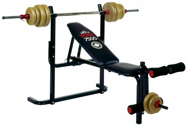 YORK BARBELL 7500 ADJUSTABLE BENCH ITEM #4917