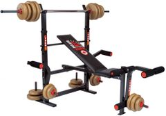 YORK BARBELL 230 ADJUSTABLE WORK OUT BENCH ITEM #4037