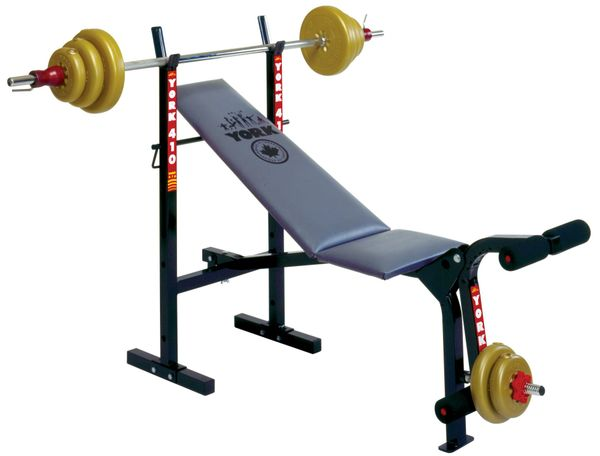 YORK BARBELL 410 ADJUSTABLE WORK OUT BENCH ITEM # 4089