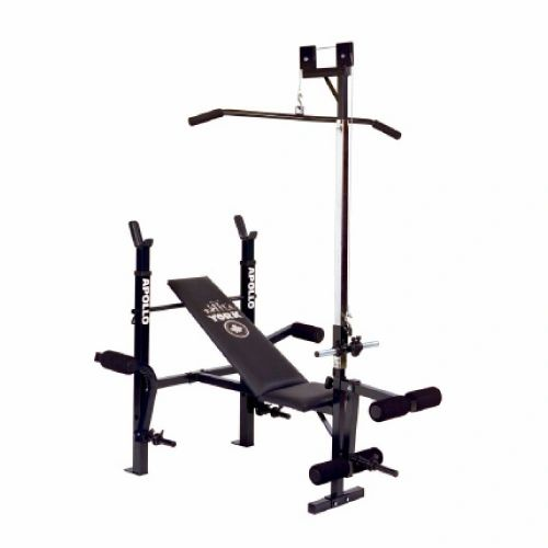 YORK BARBELL APOLLO ADJUSTABLE BENCH ITEM #4144