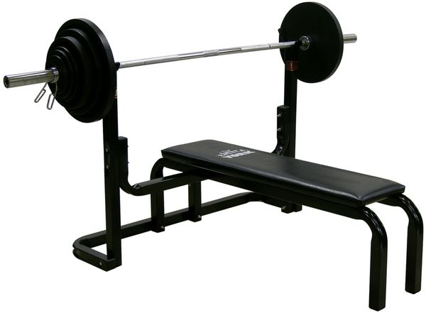 YORK BARBELL 9201 P0WER LIFTING BENCH ITEM #4201, Click On Picture For More Details, Now Available, 12 July 2021, $279