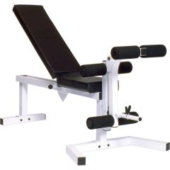 YORK BARBELL PRO SERIES 210 ITEM #4239 COMES WITH 205 FI BENCH ITEM #4223 & 202 LEG CURL ATTACHMENT ITEM #4231