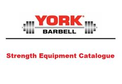 YORK BARBELL HOME STRENGTH EQUIPMENT CATALOGUE