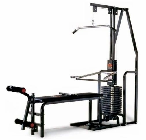 YORK BARBELL 2001 HOME GYM ITEM #5000, ALSO AVAILABLE, YORK PEC MATE ITEM #5006, MADE IN CANADA