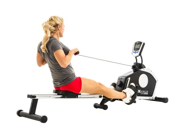 XTERRA ERG200 MAGNETIC ROWER - ROWING MACHINE