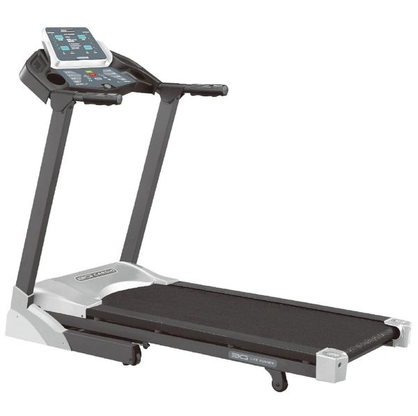 3G CARDIO LITE RUNNER FOLDING, TREADMILL, 2.5 H.P HIGH TORQUE MOTOR