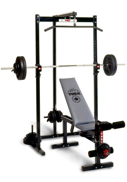 YORK BARBELL 2000 POWER STATION HOME GYM, ITEM #5098