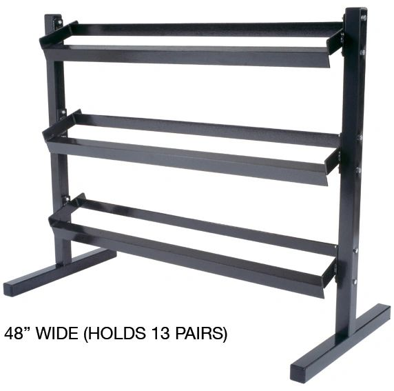 YORK 8001, 3 TIER DUMBELL STAND/RACK ITEM 6914