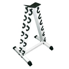 YORK 8010, WHITE VERTICAL DUMBELL STAND/RACK ITEM 6920