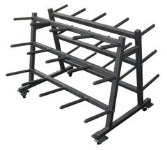 YORK 8003, AEROBIC SET RACK & CLUB PACK/STAND/RACK ITEM 69034