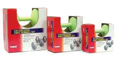 YORK LIME GREEN EXECUTIVE VINYL DUMBELLS, 2.5LB, 5LB, 10LB, ITEM #1302, #1312, #1322