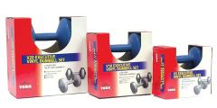 YORK ROYAL BLUE EXECUTIVE VINYL DUMBELLS, 2.5LB, 5LB, 10LB, ITEM #1303, #1313, #1323