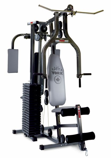 YORK BARBELL 3301 POWER MAX UNIVERSAL HOME GYM, ITEM #5055, 18 Feb still available