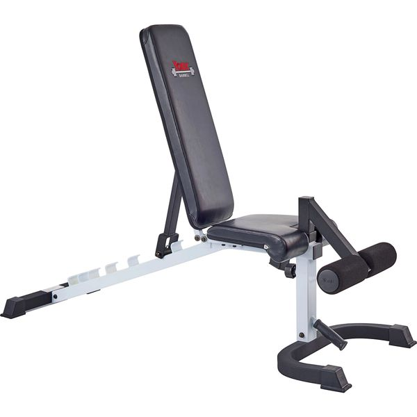 YORK FTS FLEX BENCH WITH LEG HOLD DOWN, HAS 7 POSITION, ITEM #48004, Now Available 12 July 2021, $349