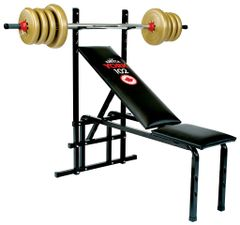YORK BARBELL 102 ADJUSTABLE BENCH ITEM #4002