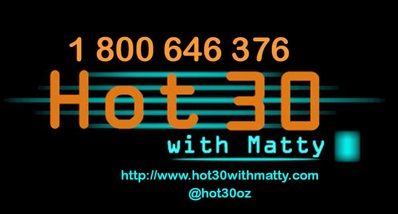 Hot 30 with Matty around Australia 2019