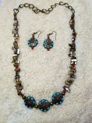 Western Cowgirl necklace set