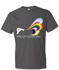 Dresscode Project #lengthnotgender Unisex Short Sleeve Tee