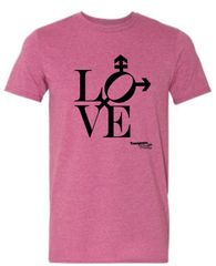 Love design Unisex Short Sleeve Tee