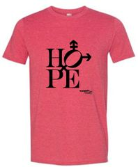 Hope design Unisex Short Sleeve Tee