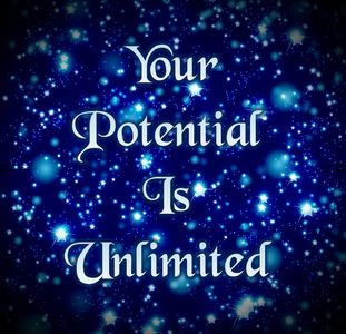 Your Potential Is Unlimited.