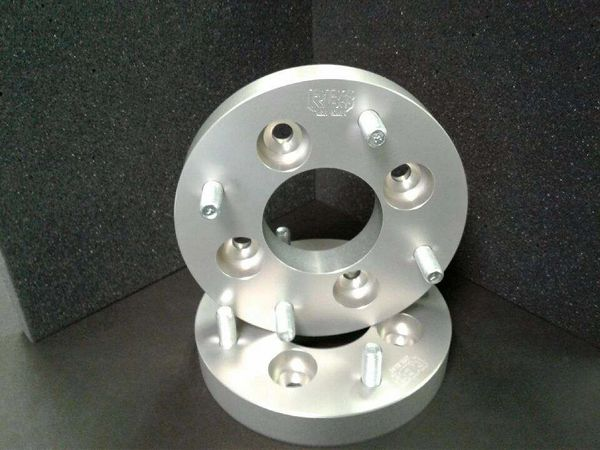 "1"" Wheel Spacers 4/110 to 4/136. Ultra-Light Wheel Spacers Set of 4"