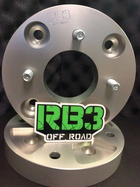 """1"""" WHEEL SPACERS 4/110 TO 4/137. ULTRA-LIGHT WHEEL SPACERS SET OF 4"""