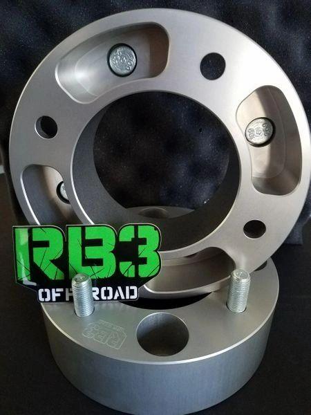 """1"""" 4/156 12m x 1.5 Wheel Spacer - A Pair"""