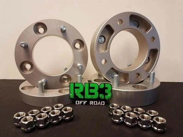 "1"" Front 2"" Rear Spacer Bundle 4/137 12m x 1.5"