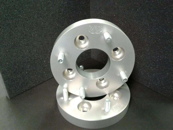"1"" Wheel Spacers 4/110 to 4/136. Ultra-Light Wheel Spacers"