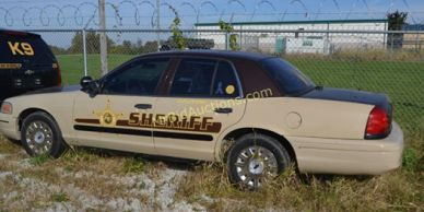 Putnam County Sheriff's Car sold at Auction with Mr Bid Auctions.