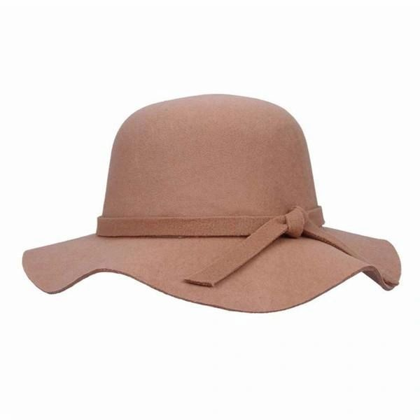 'Coco' floppy hat in beige